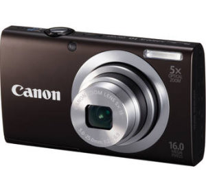 Go Mobile, Go Social and Go Colorful with the Canon PowerShot A2400 IS Compact Camera