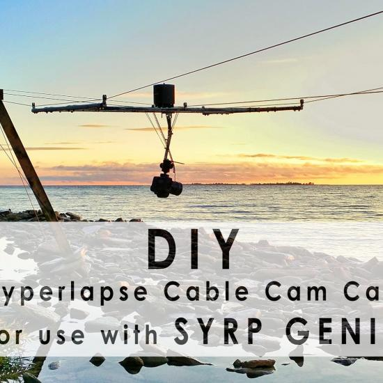 DIY Cable Cam by DIY Photography
