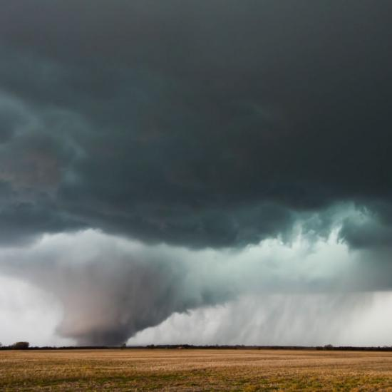 This Photographer Captured a Tornado Forming - and It's Mesmerizing