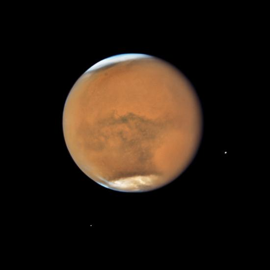 Mars is Closer Than It's Been in 15 Years, Offering Spectacular Views of the Red Planet