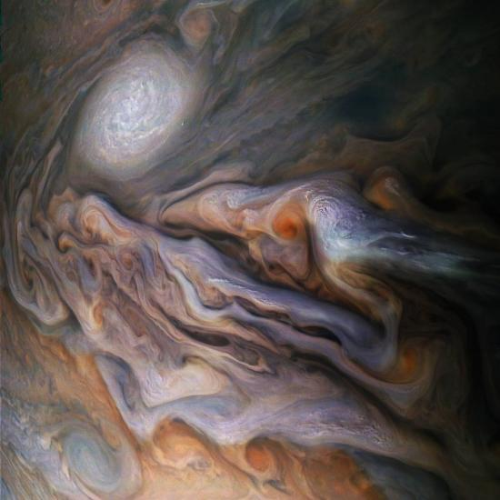 Check Out NASA's New Jaw-Dropping Photo of Jupiter's Clouds