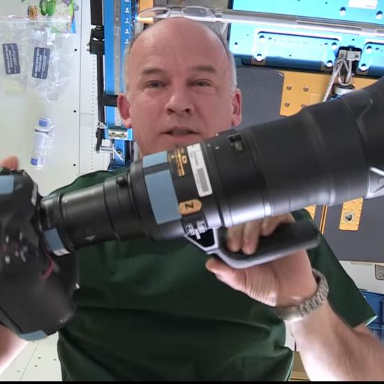 It Cost Over $130,000 to Get This $23,000 Camera Kit to the International Space Station