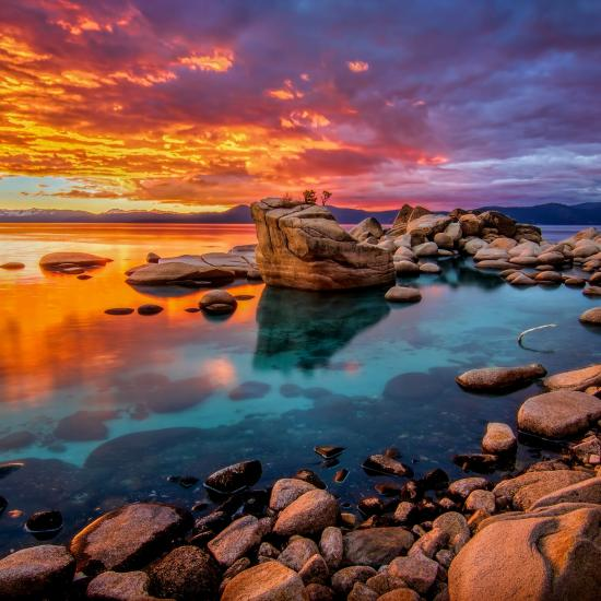 Nevada Photography and Travel Guide - Lake Tahoe Area