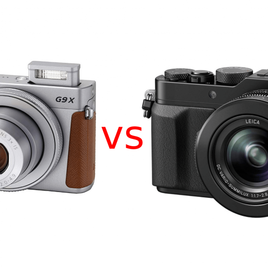 Compact Camera Comparison: Canon Powershot G9 X Mark II vs Panasonic DMC-LX100