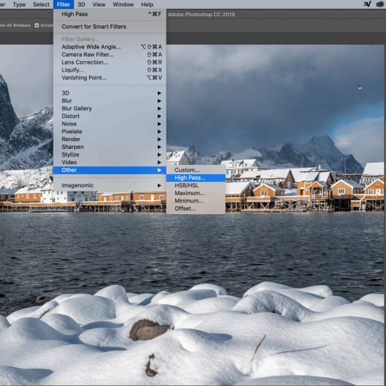 How to Sharpen an Image in Photoshop Using a High Pass Filter