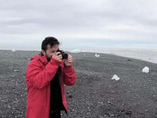 This Photographer Made a Camera Lens Out of an... Iceberg?