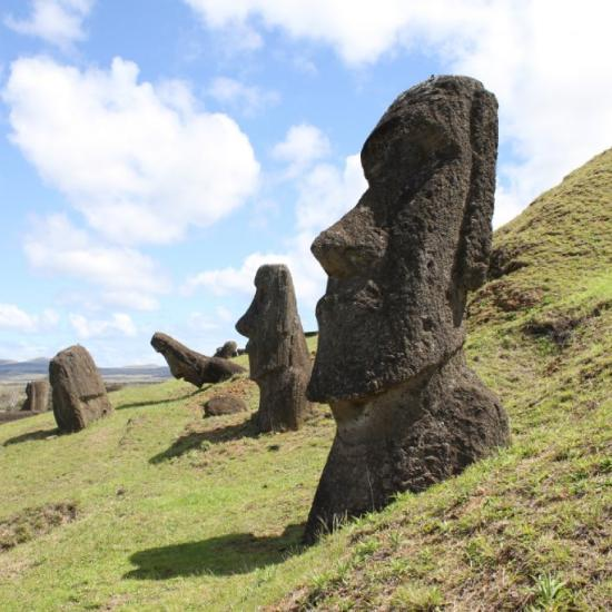 Nose-Picking Selfie-Seekers Ruining Easter Island Statues