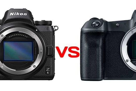 Nikon Z6 vs. Canon EOS R