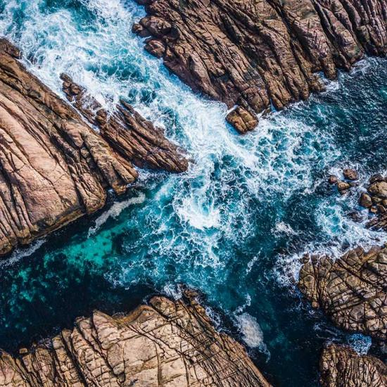 Shooting Landscapes With a Drone
