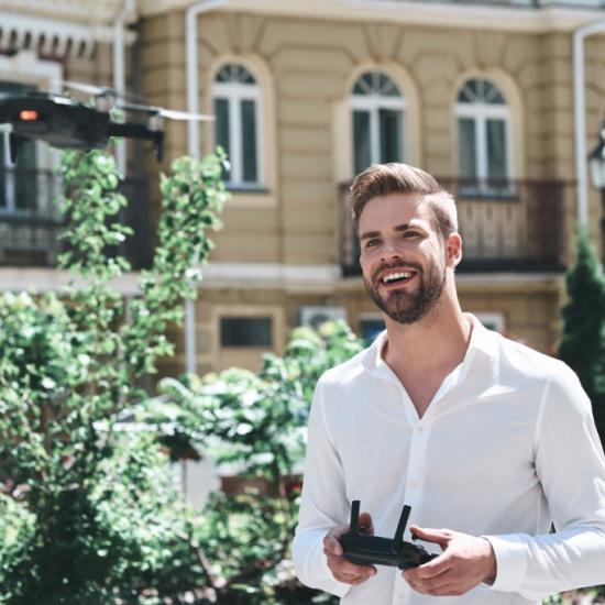 Shooting B-Roll With a Drone