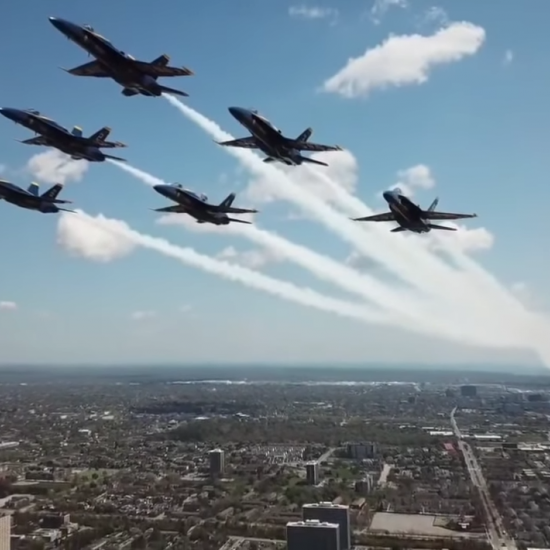 Drone Pilot Breaks the Law to Get Dangerously Up-Close Footage of Blue Angels
