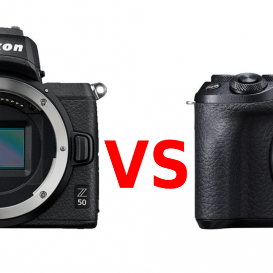 Nikon Z50 vs Canon EOS M6 Mark II