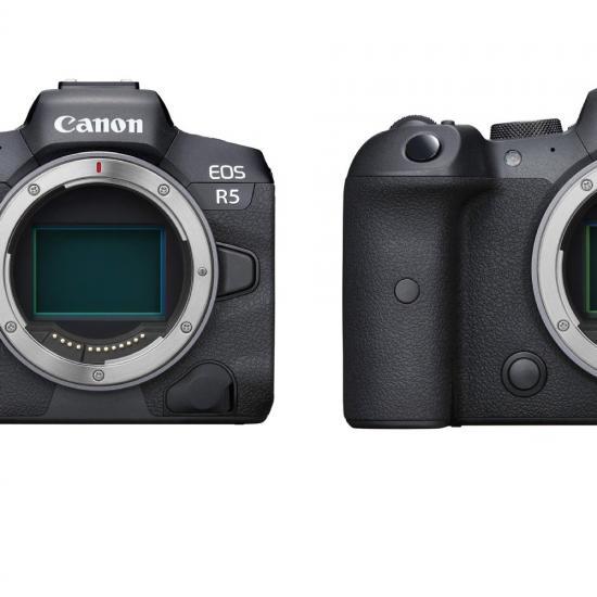Canon Officially Announces EOS R5 and EOS R6 Full Frame Mirrorless Cameras