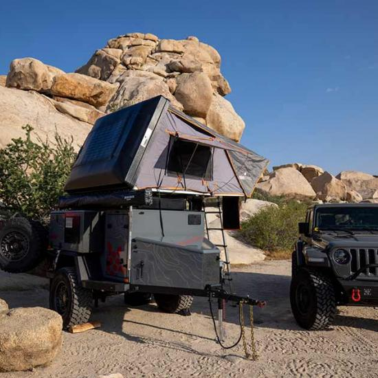 Photography Trek and Adventures: How to Safely Take Your Off-Road Trailer Overland