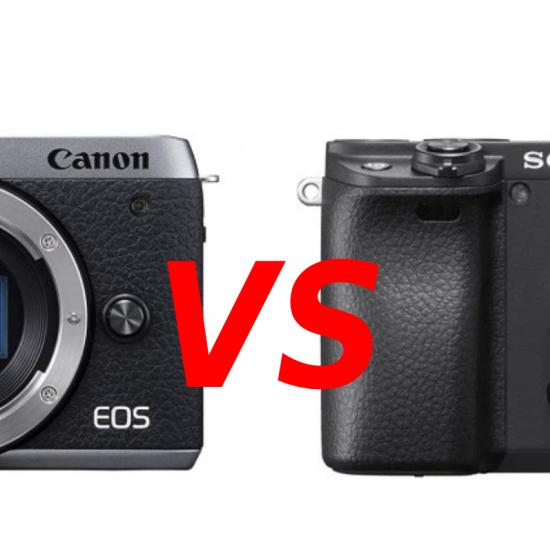 Canon EOS M6 Mark II vs Sony a6400