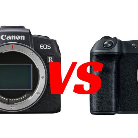 Canon EOS RP vs. Canon EOS R
