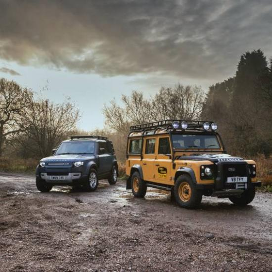 Land Rover Made a Camel Trophy-Inspired V8 Defender