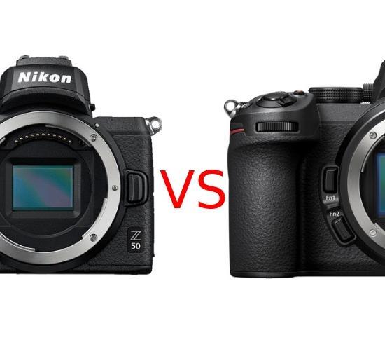 Nikon Z50 vs Nikon Z5