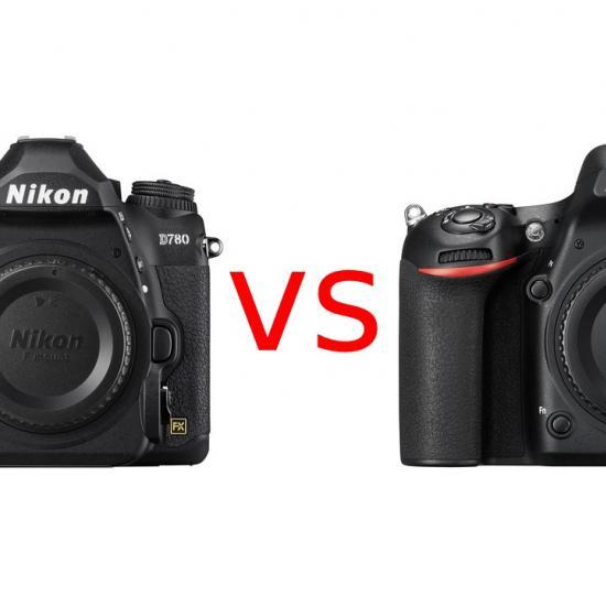 Nikon D780 vs D750