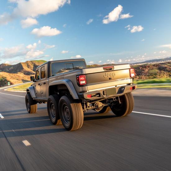 Get This Jeep Gladiator 6x6 for $132,000