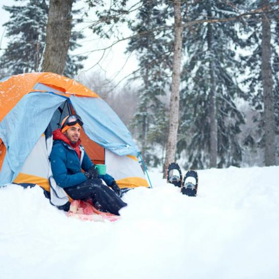 How to Stay Warm While Cold Weather Tent Camping