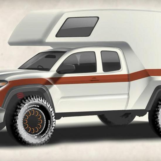 The Toyota Tacozilla is the Retro Camper Van You Didn't Know You Needed