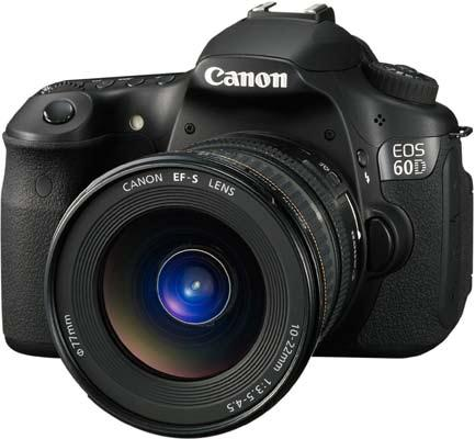 Digital Photography Equipment Review—The Canon EOS 60D Camera
