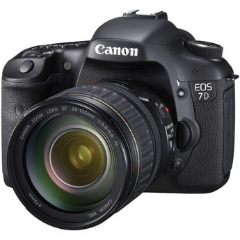 Digital Photography Equipment Review—The Canon EOS 7D DSLR Camera, Part 1