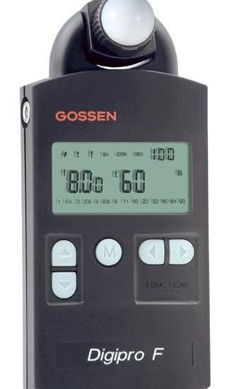 Digital Photography Equipment Review—The Gossen Digipro F Light Meter