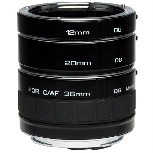 Digital Photography Equipment Review—Kenko Automatic Extension Tube Set