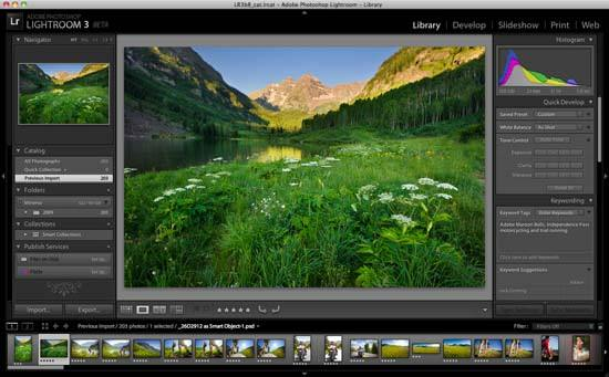 Digital Photography Equipment Review—Adobe Photoshop Lightroom 3