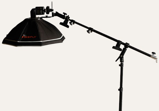 Digital Photography Equipment Review—The LumoPro LP605 Reflex Light Stand and LP621 Miniature Boom Arm