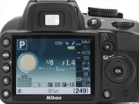 Digital Photography Equipment Review—The Nikon D3100 DSLR Camera, Part 3