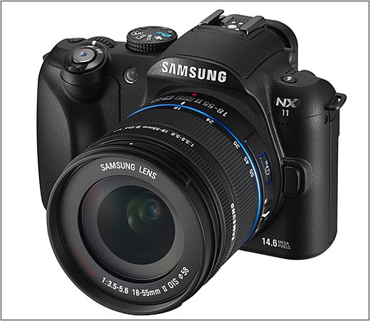 Digital Photography Equipment Review—The Samsung NX11 Compact Camera