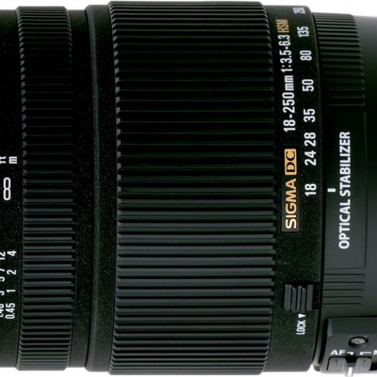 Digital Photography Equipment Review—The Sigma 18–250mm f/3.5–6.3 DC OS HSM Zoom Lens, Part 1