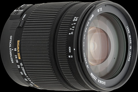 Digital Photography Equipment Review—The Sigma 18–250mm f/3.5–6.3 DC OS HSM Zoom Lens, Part 2