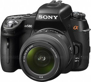 Digital Photography Equipment Review—The Sony Alpha DSLR-A580 Camera, Part 1