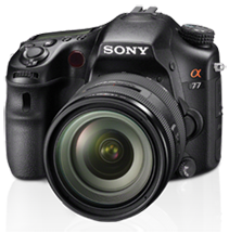 Sony SLT-A77 Camera Review