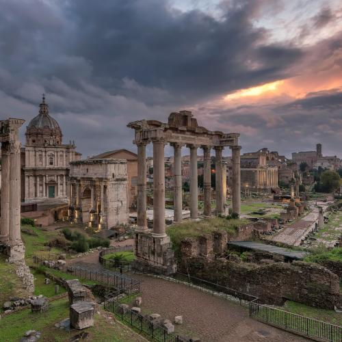 The eternal city - Rome, Italy by Luigi Trevisi