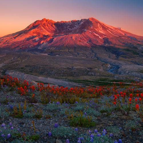 Volcanic Glow by trevorandersonphotography